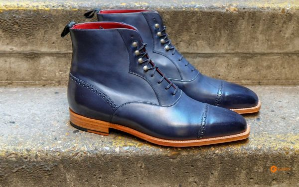 mens navy work boots gv 5533 1