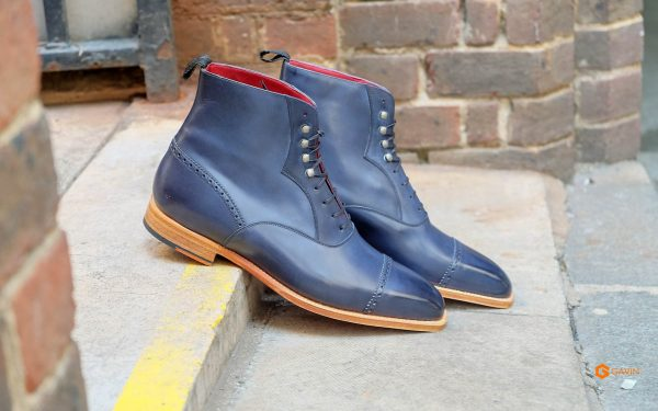 mens navy work boots gv 5533 3